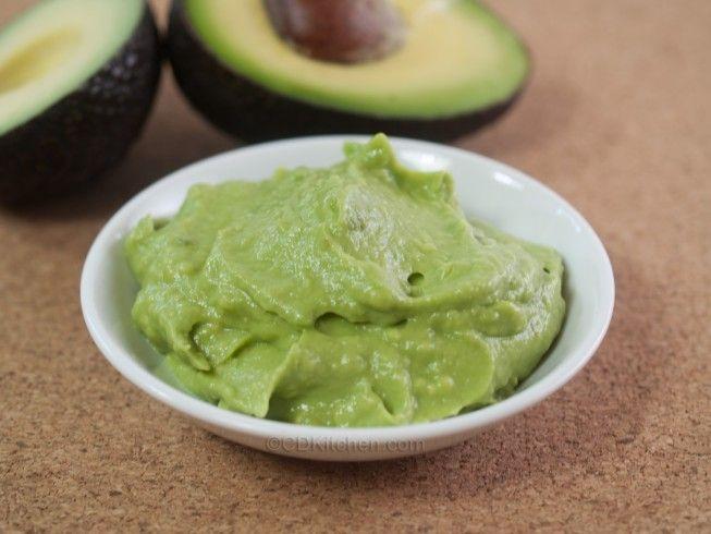Behandlung für trockene Hände, Avocado Maske