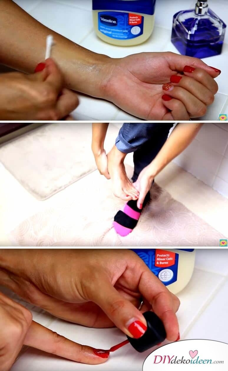 Beauty Tricks mit Vaseline
