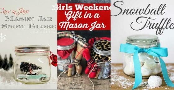 5 erstaunliche Geschenkideen mit Einweckgläsern, die Weihnachten verzaubern