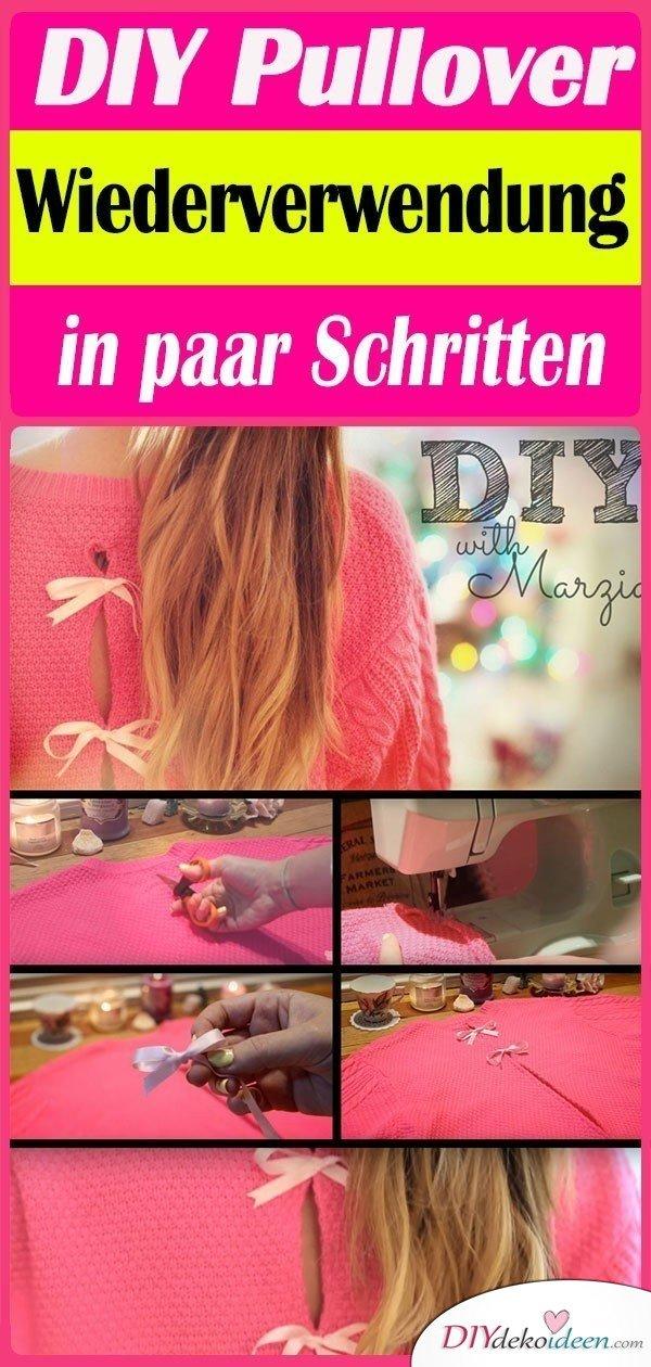 DIY-Pullover-Wiederverwendung-in-paar-Schritten