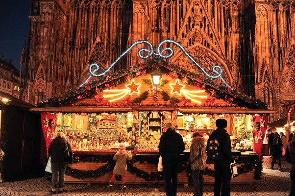 Weihnachtsmärkte in Europa - Straßburg