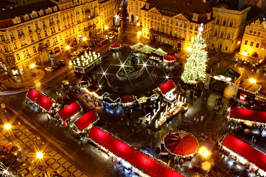 Weihnachtsmärkte in Europa - Prag