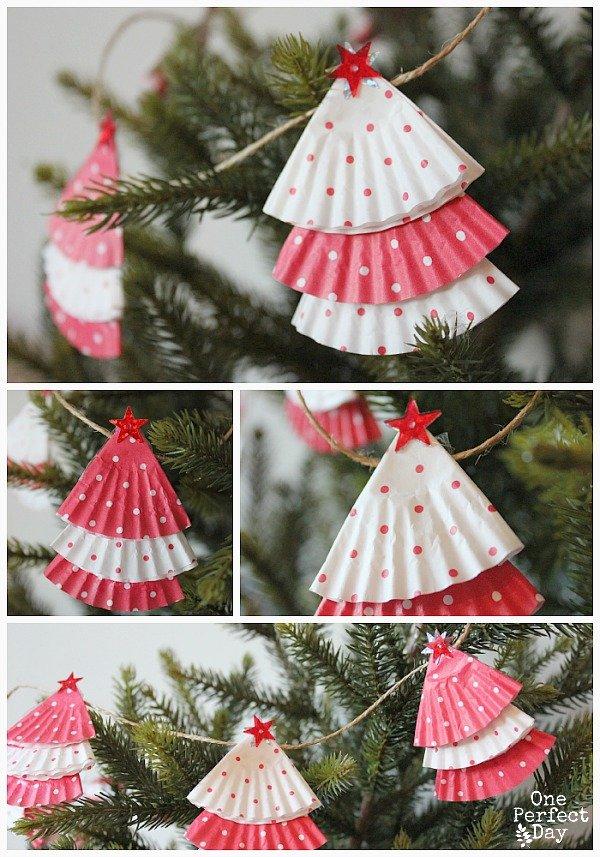 DIY Projekte zu Weihnachten - Girlande
