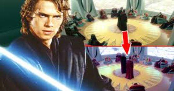 Gestohlene Momente in Hollywood-Star Wars Szene