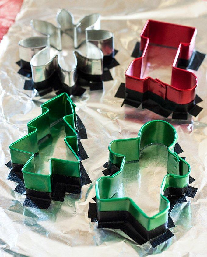 Bunte DIY Kerzen zu Weihnachten