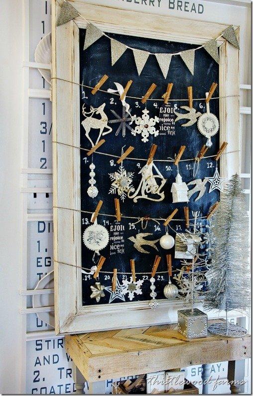 Zauberhafte Adventskalender – der Countdown bis Weihnachten beginnt gleich! Tafel