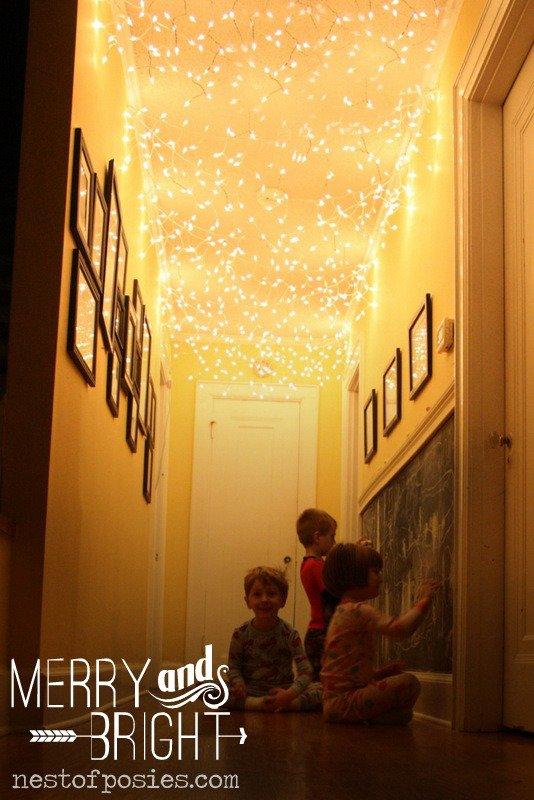 Zauberhafte DIY Weihnachtsbeleuchtung Nummer drei: Fee-Lichter