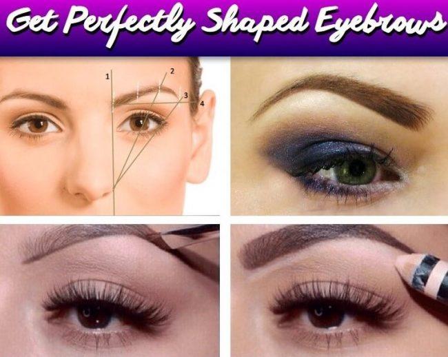 DIY Augenbrauen perfekt formen - Beauty Ideen
