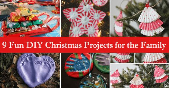 Fantastische DIY Projekte zu Weihnachten für die ganze Familie