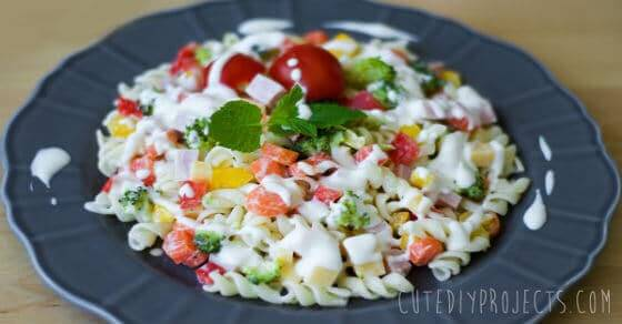 Ranch Nudel Salat
