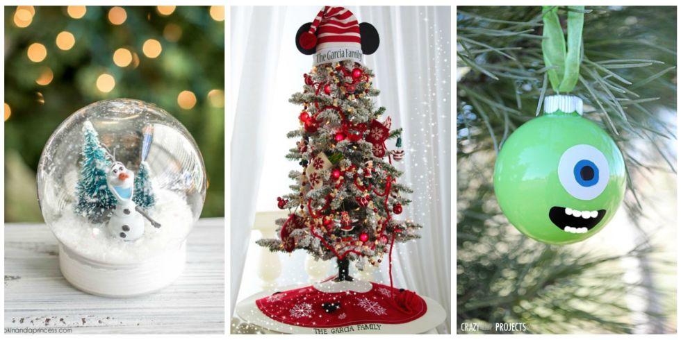 Disney Weihnachtsdeko selber machen-Bastelideen zu Weihnachten
