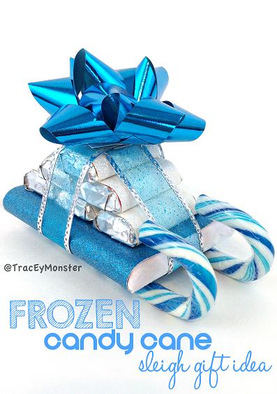 Disney Weihnachtsdeko selber machen-Die Eiskönigin Dekogeschenk