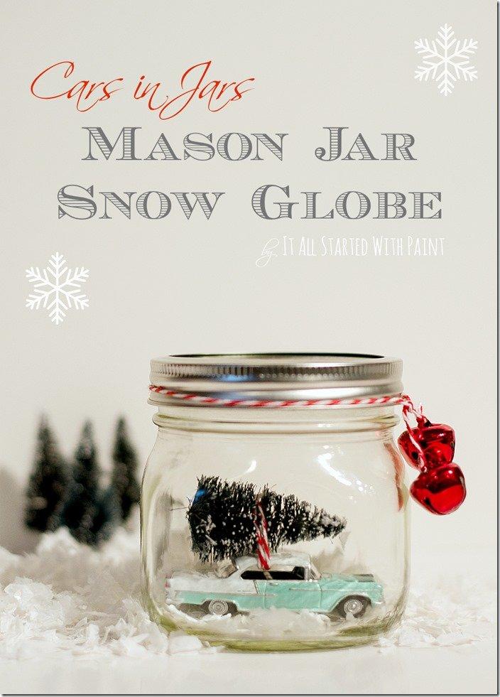 Weihnachtsgeschenk mit Einzweckgläsern - DIY Geschenke zu Weihnachten