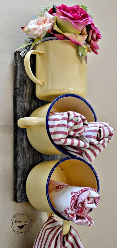 """Behälter für Waschtücher selber machen - DIY """"Regal"""""""