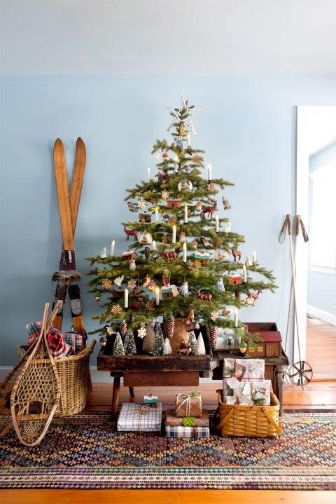 Atemberaubende Weihnachtsbaum Dekoration Idee - Omas Baum