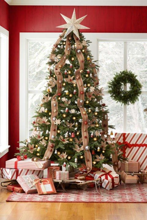 Atemberaubende Weihnachtsbaum Dekoration Idee - Glocken