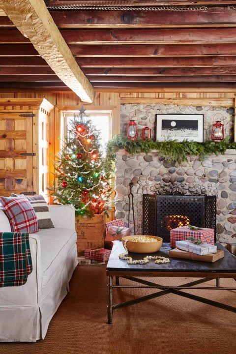 Atemberaubende Weihnachtsbaum Dekoration Idee - vintage