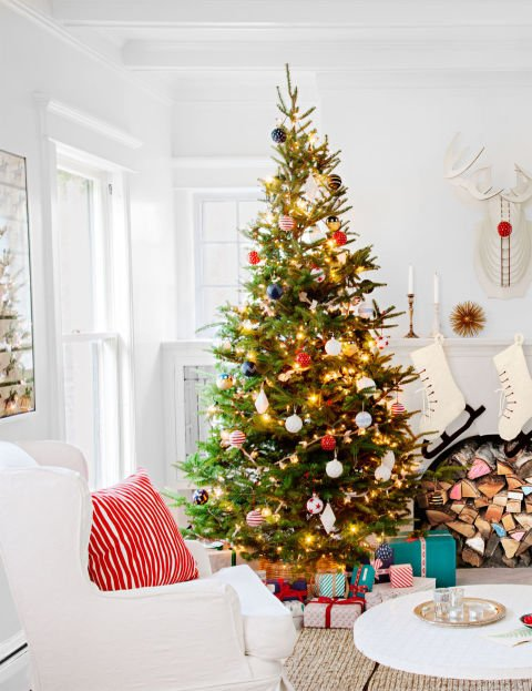 Atemberaubende Weihnachtsbaum Dekoration Idee