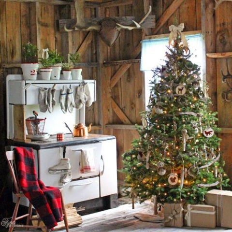Atemberaubende Weihnachtsbaum Dekoration Idee - Land