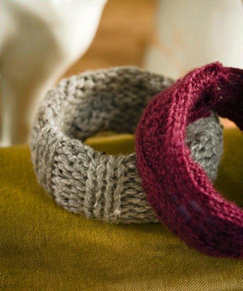 DIY Armbänder - Wintermode - Accessoires selber machen