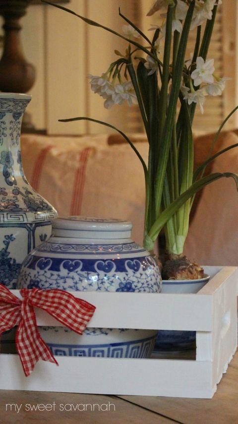 DIY Holzkisten-Deko-Wohndeko selber gestalten-Wohnzimmer-Couchtisch selber machen