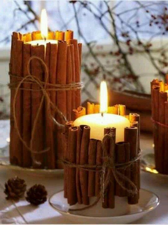 die wunderbarsten Weihnachtsdekorationen - kerze