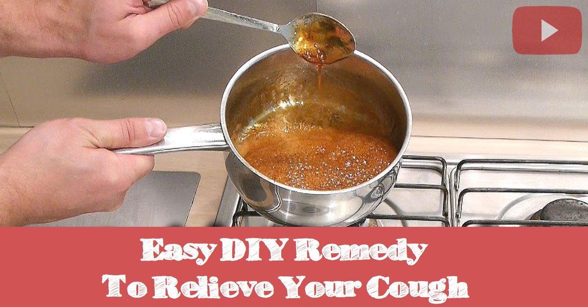 Einfaches Heilmittel gegen Husten - hausgemachtes Rezept