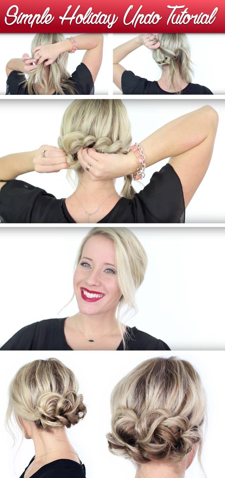 Hochsteckfrisur selber machen - Haartrend für lange Haare