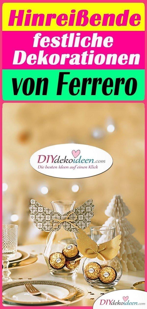Hinreißende festliche Dekorationen von Ferrero