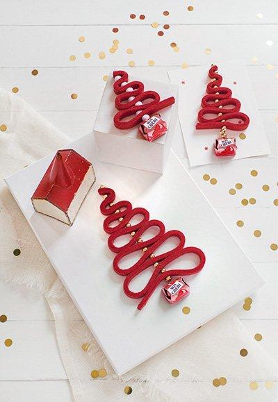 festliche Dekorationen von Ferrero - Weihnachtsbaum basteln mit Mon Chéri