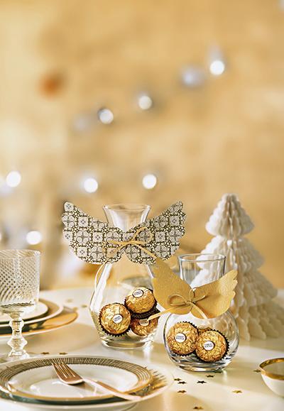 Ferrero Rocher Engel selber basteln
