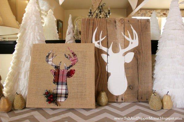 So dekorierst du deine wohnung mit jute zu weihnachten - Billige weihnachtsdeko ...