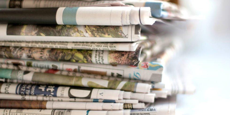 Bastelideen mit Zeitungspapier