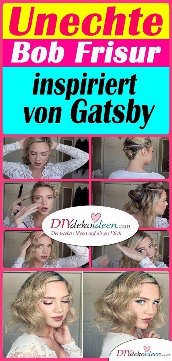 Unechte Bob Frisur inspiriert von Gatsby
