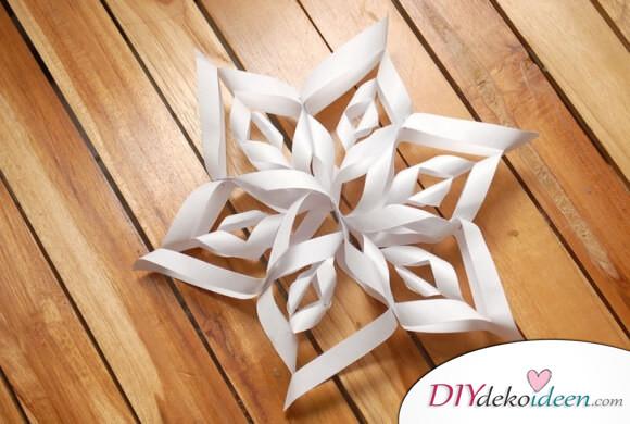 3D Schneeflocken leicht gemacht