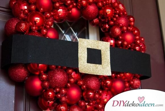 Atemberaubende Türdekoration Ideen zu Weihnachten