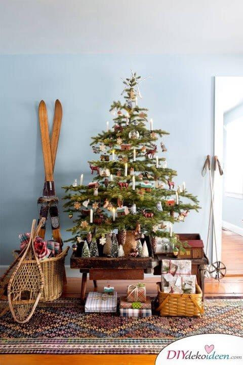 Weihnachtsbaum Dekorieren.Atemberaubende Weihnachtsbaum Dekoration Ideen