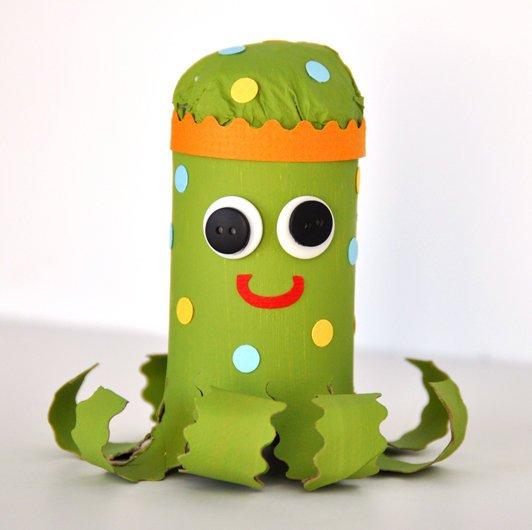 DIY Bastelideen aus Papier-Basteln mit Kindern