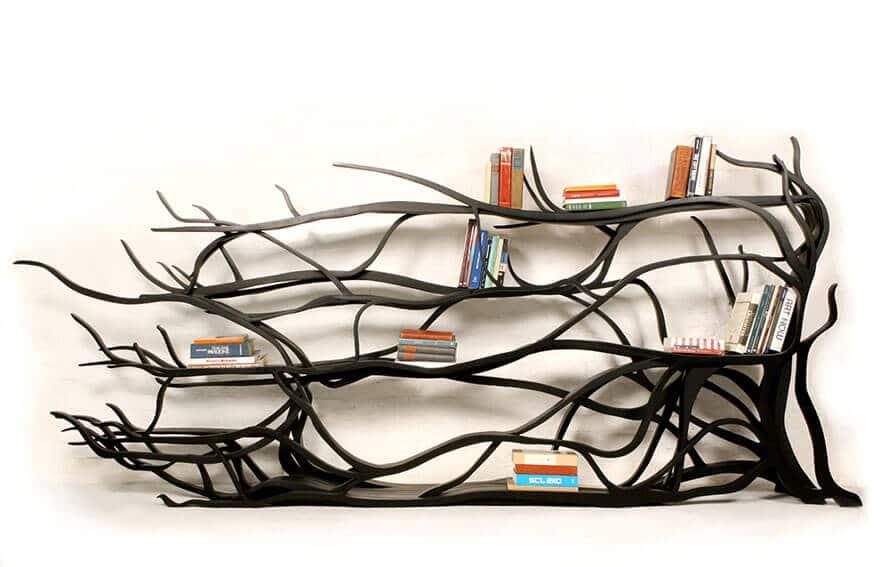 DIY Bücherregal Bastelideen