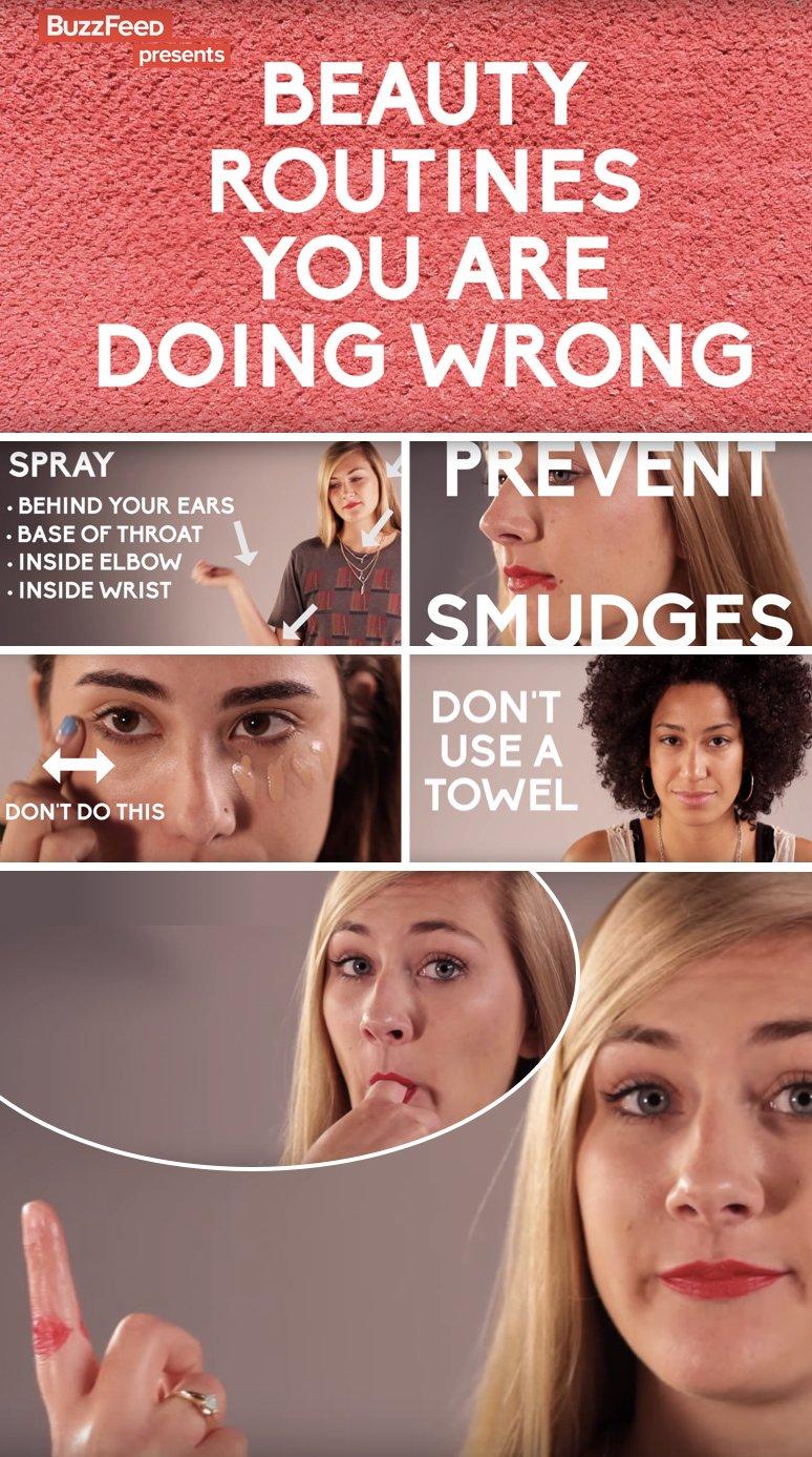 super Make-up Hacks für ein perfektes Äußeres