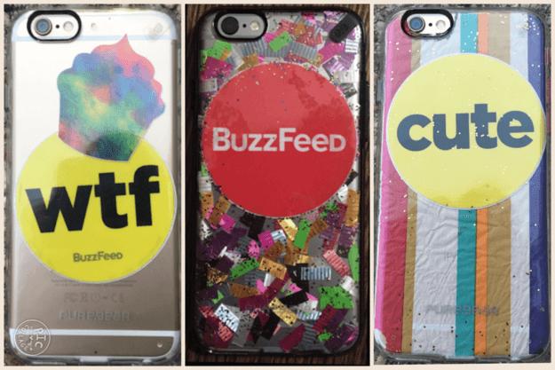 Handyhüllen mit Aufklebern verzieren - DIY Handyschmuck