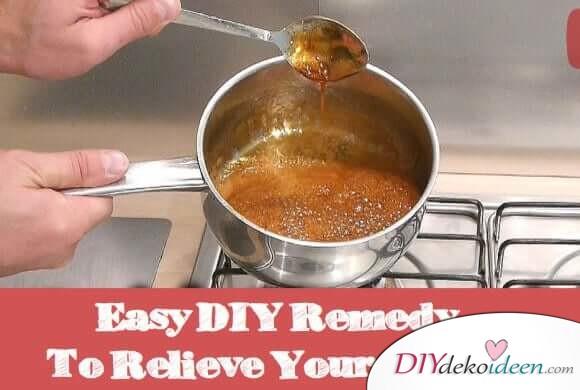 Einfaches DIY Heilmittel gegen Husten