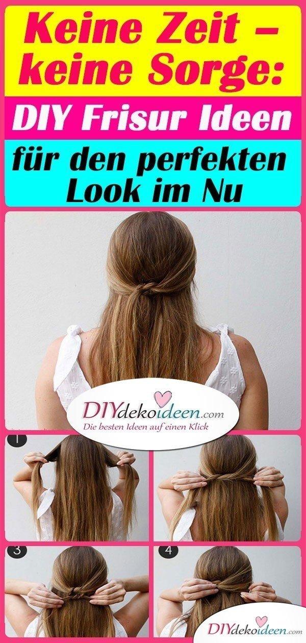 Keine Zeit – keine Sorge: DIY Frisur Ideen für den perfekten Look im Nu