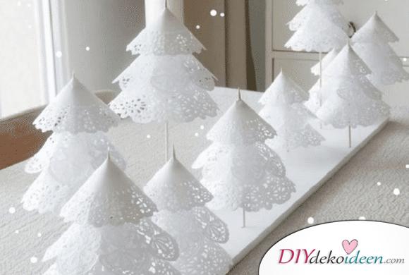 Schau mal diese hübsche DIY Weihnachtsdekoration an!