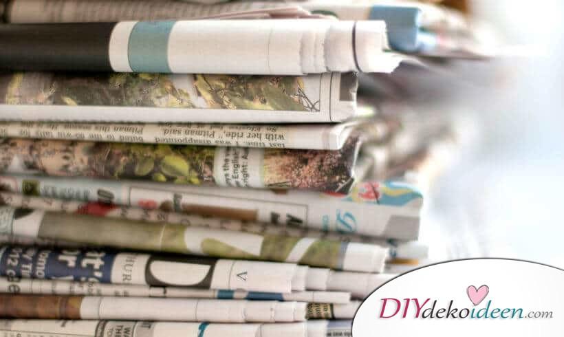 So kannst du die alten Zeitungen wiederverwenden