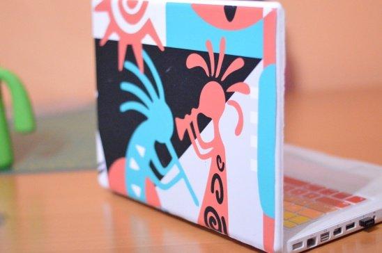 Laptop Aufkleber selber machen - DIY Ideen
