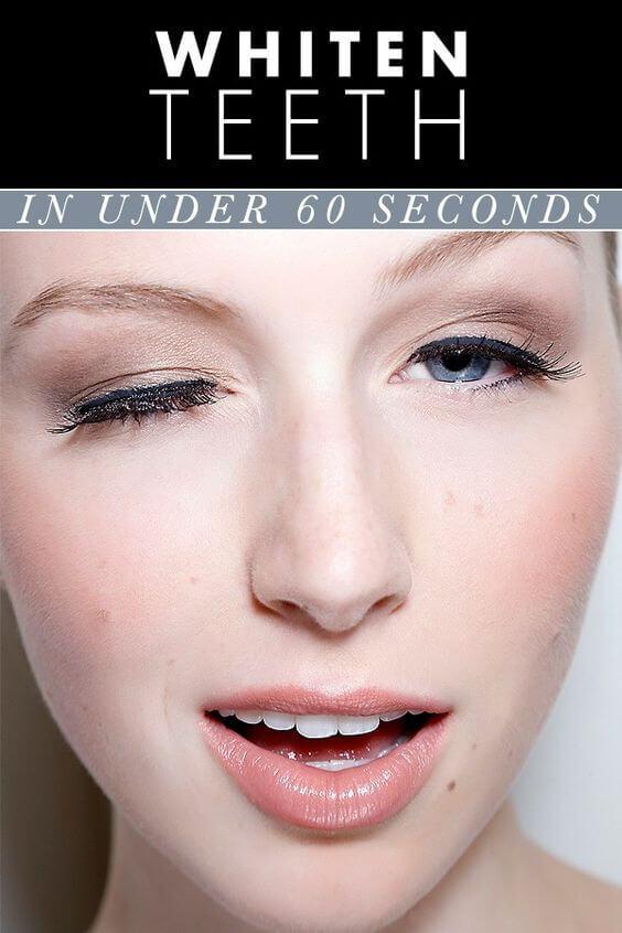 Tu was extra Gutes für deine Haut und mach deine Schönheitsprodukte selber - Zähne aufhellen in weniger als eine Minute