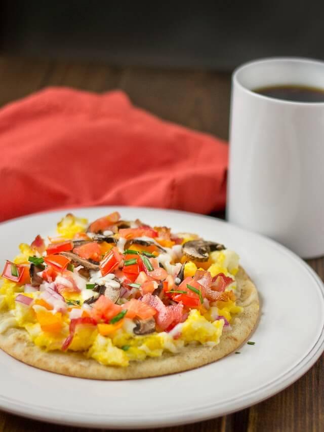 Frühstück-Pizza - leckere Rezepte mit Eiern