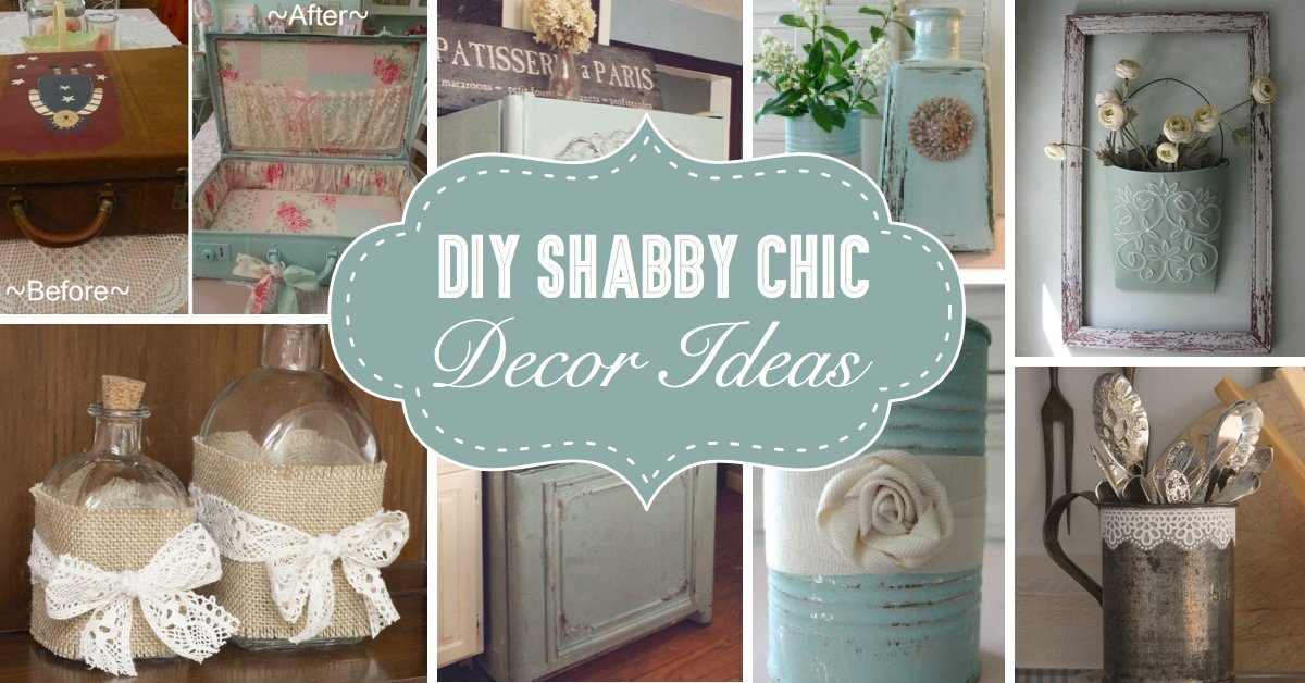 wunderbare diy shabby chic dekoideen f r alle die den. Black Bedroom Furniture Sets. Home Design Ideas