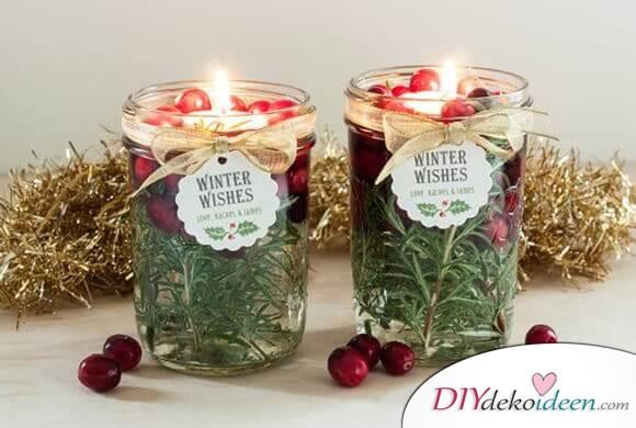 Zauberhafte DIY Weihnachtsbeleuchtung Ideen